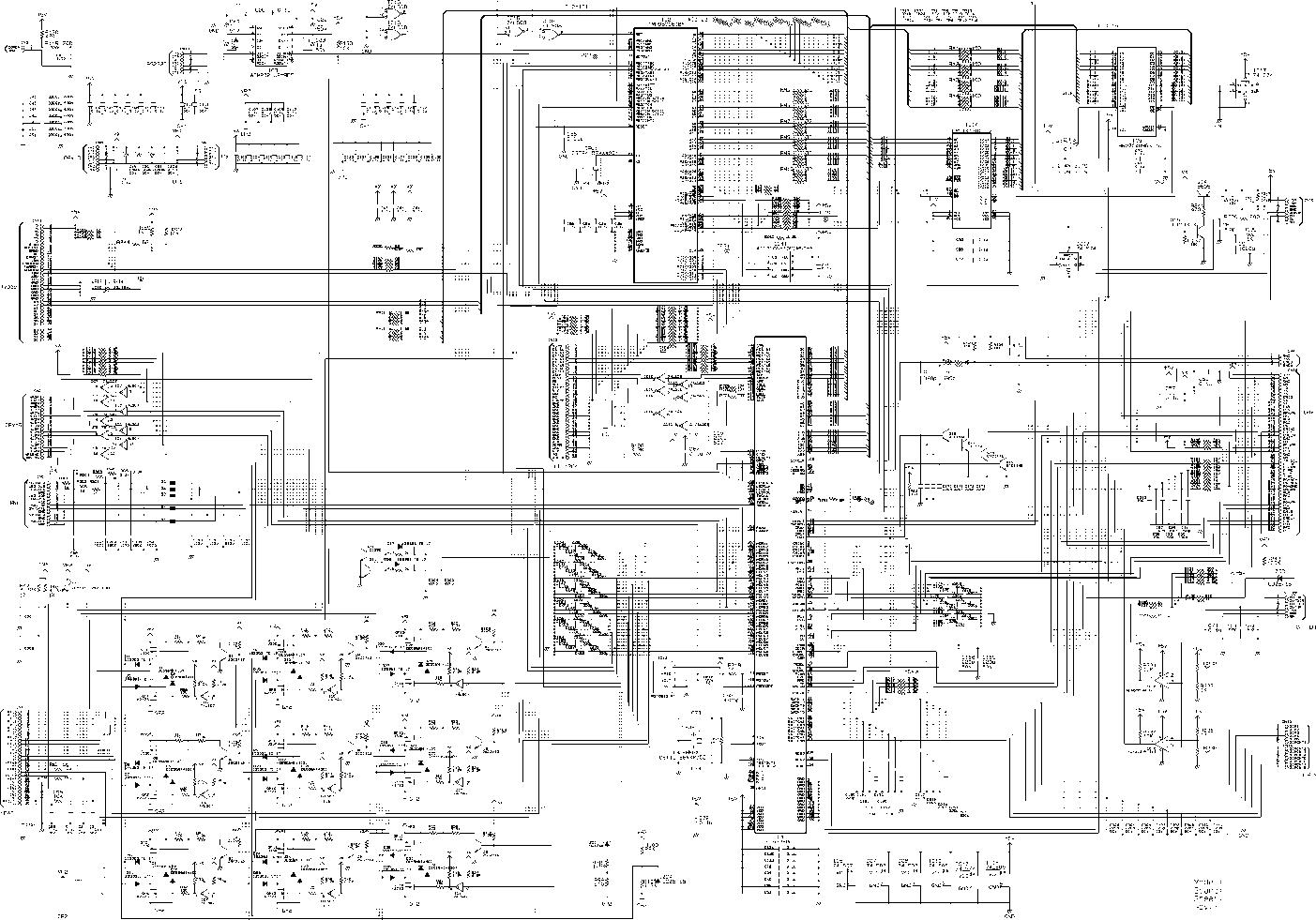 schema mainboard epson lq 2180 - epson dfx 8500