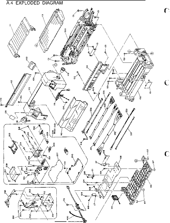 Epson L565 Board Layout