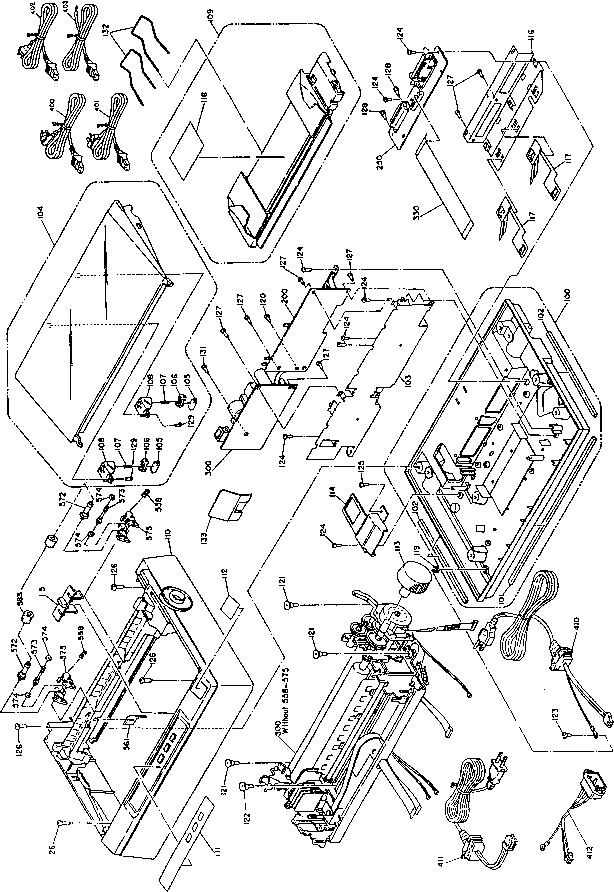 exploded diagrams - epson lq 300