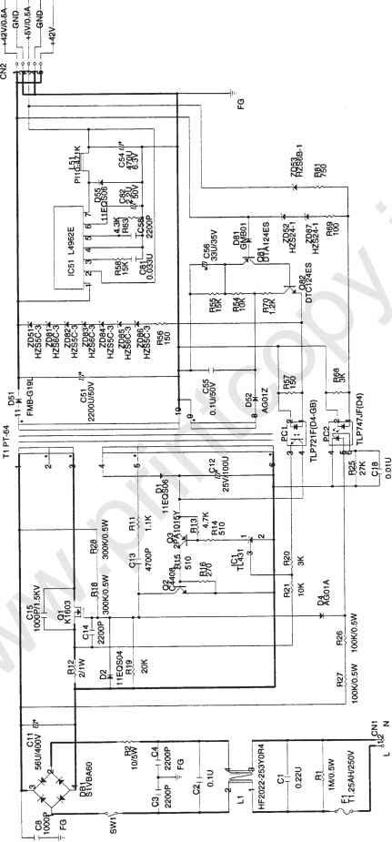 epson fx 1170 circuit diagram