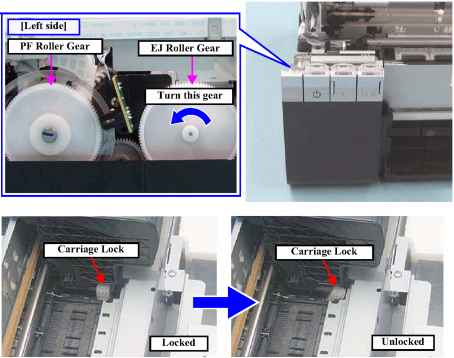 Carriage Position Sensor Epson Printer