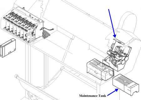 Cleaning Mechanism - Epson Stylus Pro 7600 9600 - Printer